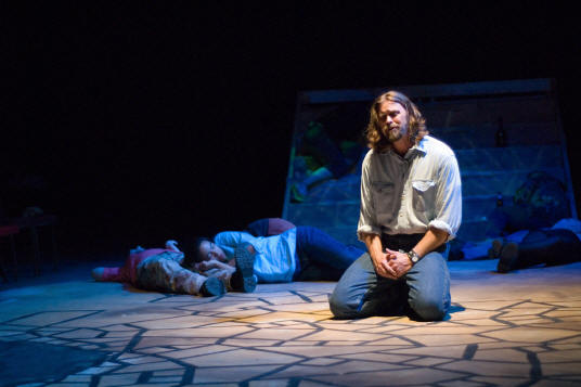 "John Sparger as Jesus in New Line's ""Jesus Christ Superstar,"" 2006"